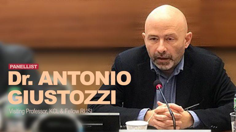 Dr Antonio Giustozzi