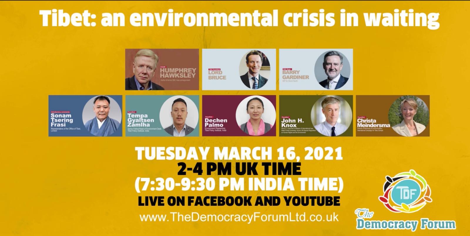 Tibet: an environmental crisis in waiting