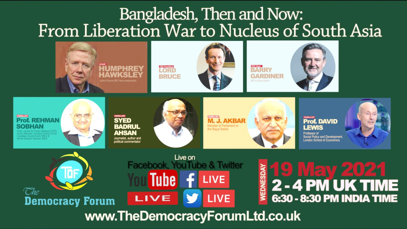 Bangladesh, Then and Now: From Liberation War to Nucleus of South Asia