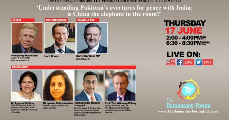 Understanding Pakistan's overtures for peace with India: is China the elephant in the room?