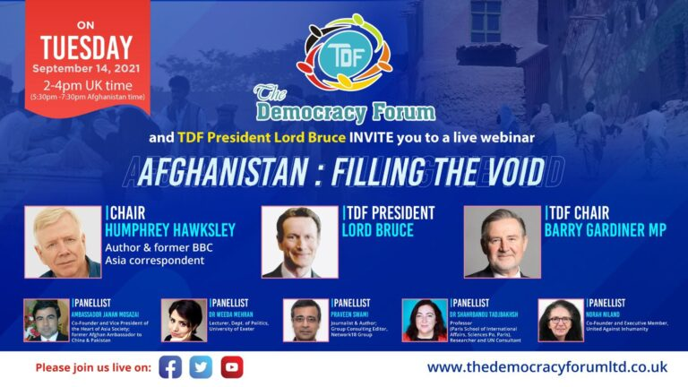 Afghanistan: Filling the Void